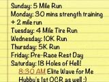 {Half Marathon Ruck Training: Week1}