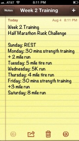 {Half Marathon Ruck Training: Week 2}
