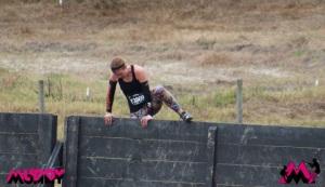 I climbed the wall!