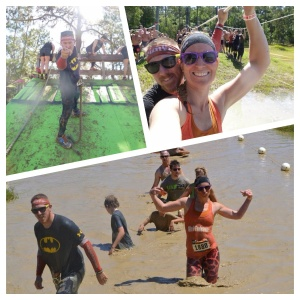 Running as a family at Mud Endeavor