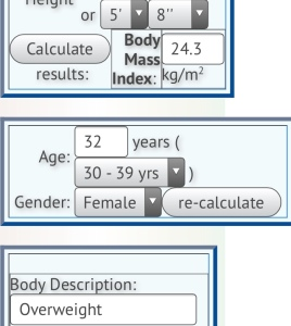 My BMI Calculation