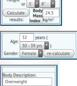 My BMI Calculation