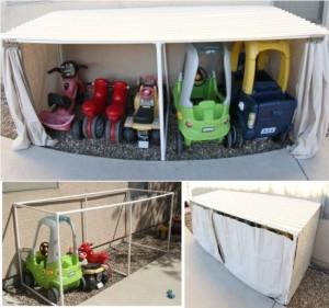 kids car garage