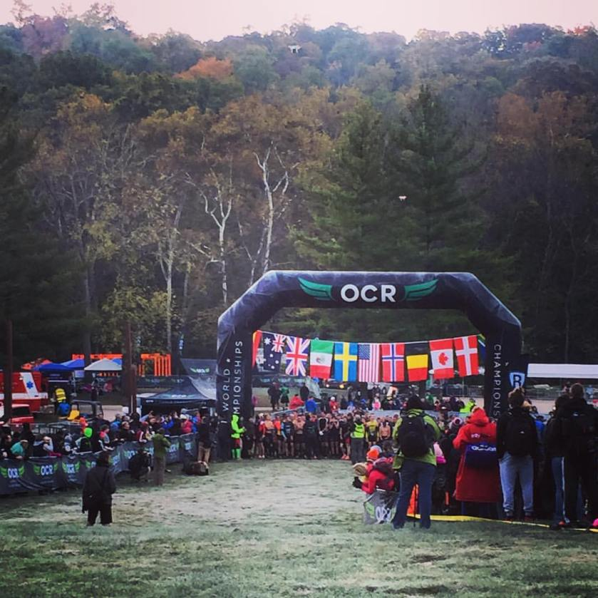 OCR World Championship Start Line