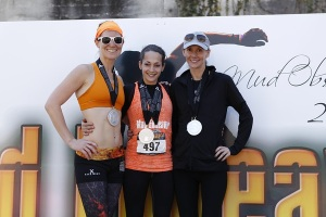 Mud Endeavor OCR Podium